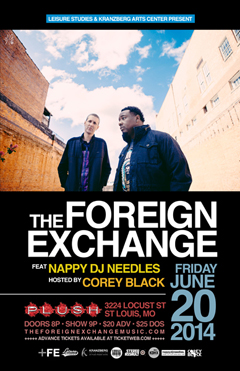 The Foreign Exchange at Plush, St. Louis MO | Jun 20, 2014
