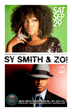 Zo! & Sy Smith at Lola, St Louis MO | Sept 29, 2012