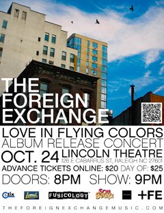 The Foreign Exchange at Lincoln Theatre, Raleigh NC | Oct 24 2013