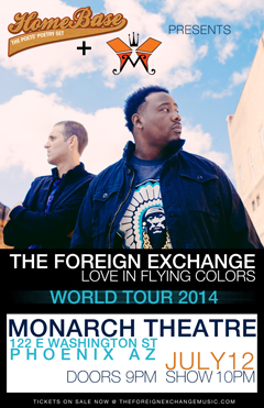 The Foreign Exchange at Monarch Theatre, Phoenix AZ | Jul 12 2014