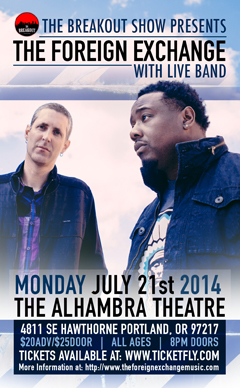 The Foreign Exchange at Alhambra Theatre, Portland OR | Jul 21 2014