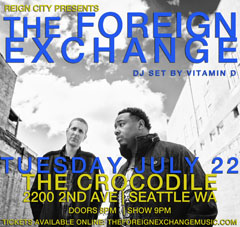 The Foreign Exchange at The Crocodile, Seattle WA | Jul 22 2014