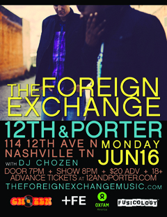 The Foreign Exchange at 12th & Porter, Nashville TN | Jun 16 2014