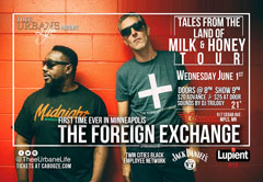The Foreign Exchange at The Cabooze, Minneapolis MN | Jun 1, 2016