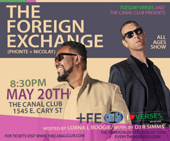 The Foreign Exchange at The Canal Club, Richmond VA | May 20, 2016