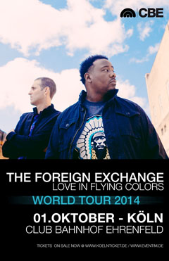 The Foreign Exchange at Club Bahnhof Ehrenfeld, Cologne (DE) | Oct 1, 2014