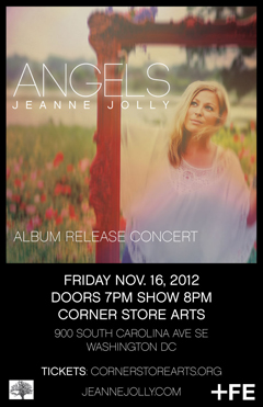Jeanne Jolly at Corner Store Arts, Washington DC | Nov 16 2012
