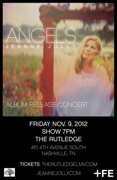 Jeanne Jolly at The Rutledge, Nashville TN | Nov 9 2012