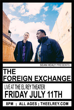 The Foreign Exchange at El Rey Theatre, Los Angeles CA | Jul 11, 2014