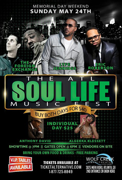 The Foreign Exchange at The ATL Soul Life Fest, Atlanta GA | May 24, 2015