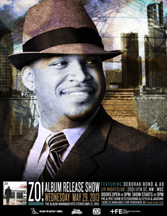 Zo! presents ManMade Album Release Show in Washington DC | May 29, 2013