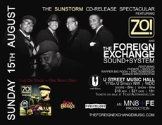 The SunStorm CD-Release Spectacular at U St Music Hall, Washington DC | Aug 15 2010