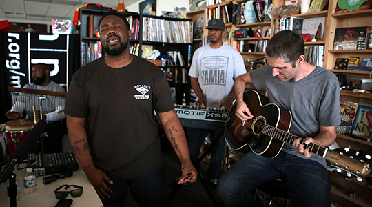 WATCH: The Foreign Exchange plays Tiny Desk Concert at NPR