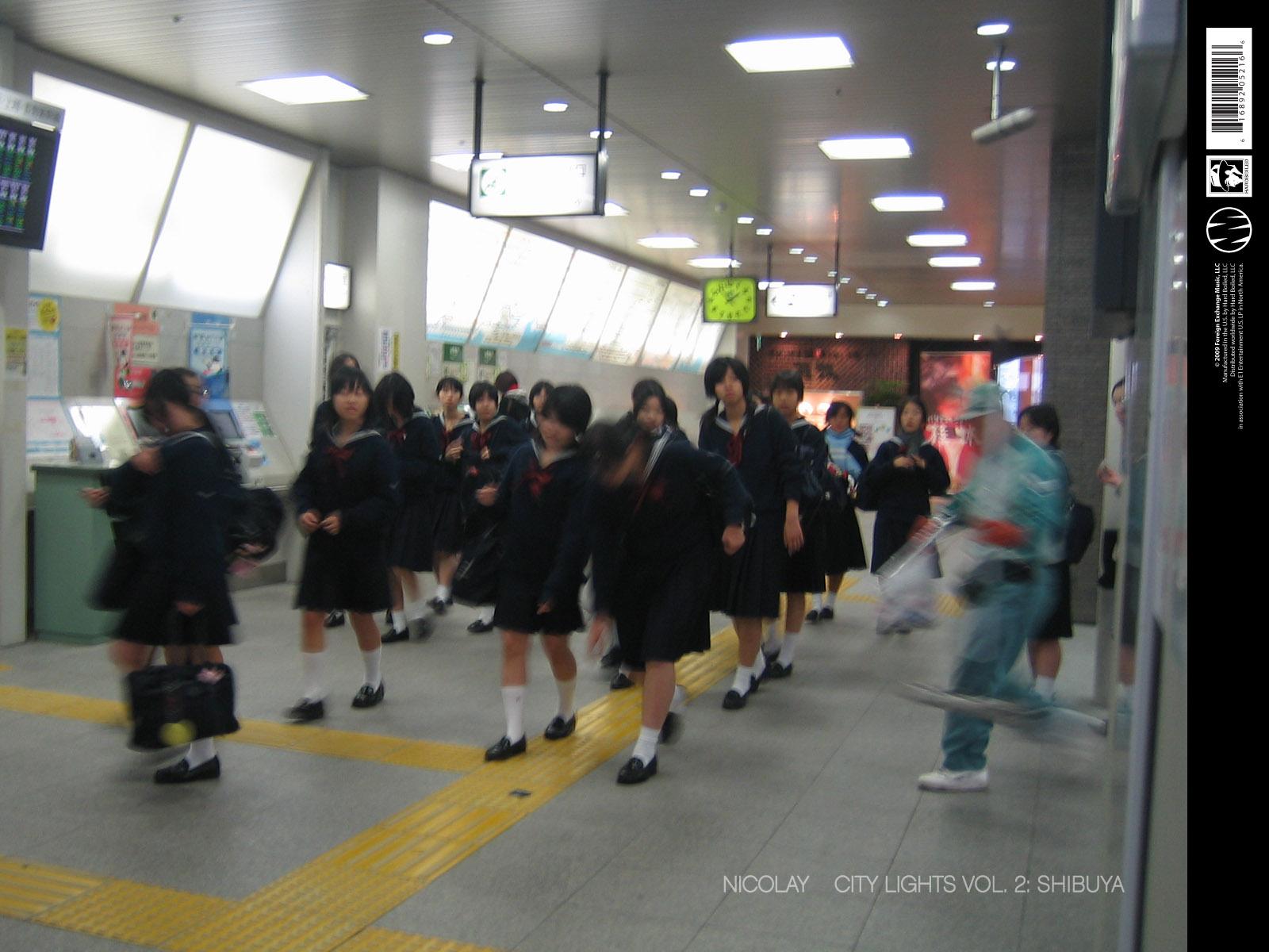 city lights vol. 2: shibuya wallpapers